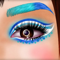 Incredible Princess Eye Art